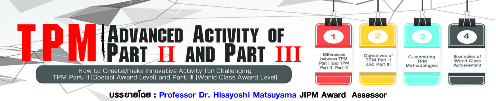 TPM Advanced Activity of Part II and Part III