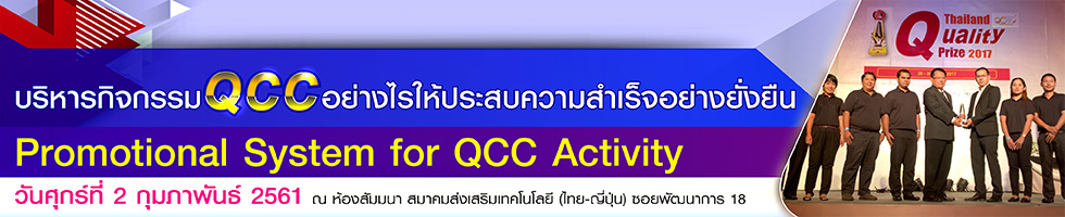 Promotional System for QCC Activity